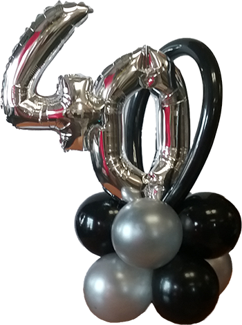 -40th Balloon Bunch