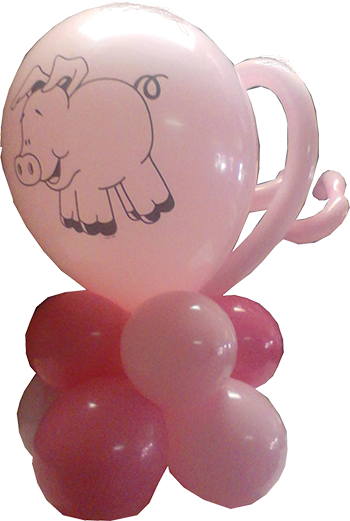 -Table Topper Pig Tail