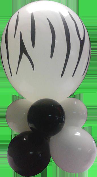 -Table Topper Zebra