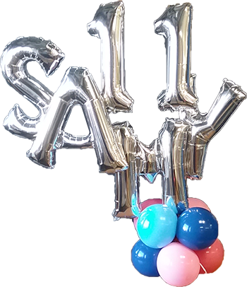 11 Sammy Balloon Bunch