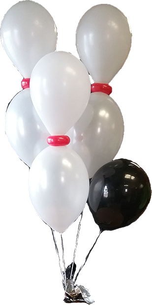 Bowling pin Balloons