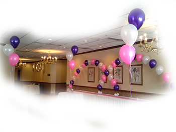 Pink Purple Pearl Archs