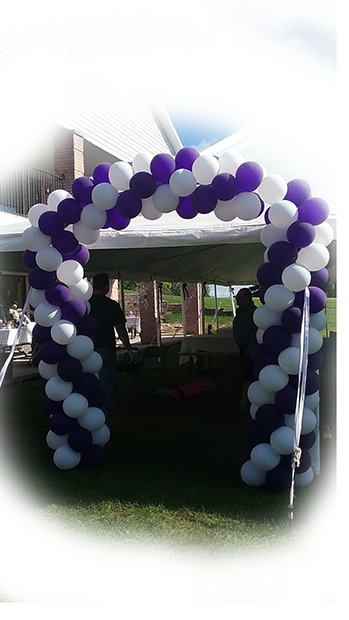 Purple Sprial Booth