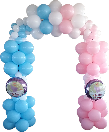 Small Baby shower arch