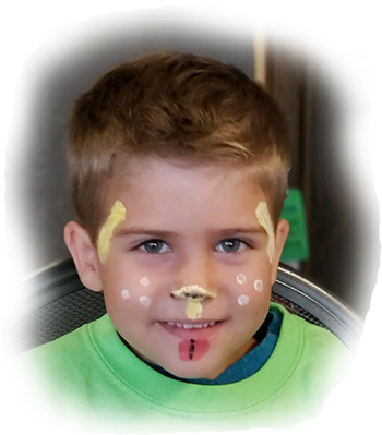 FacePainter Dog Boy