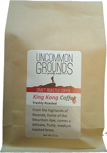 uncommon grounds coffee bag